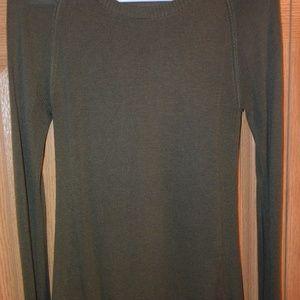 "lululemon athletica Sweaters - Lululemon ""Be Bold"" green merino wool sweater sz 6"